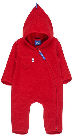 Finkid Puku jumpsuit Kinderen rood